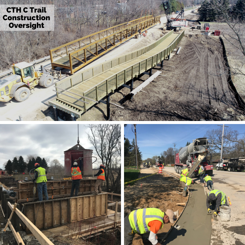 CTH C Trail Construction Oversight